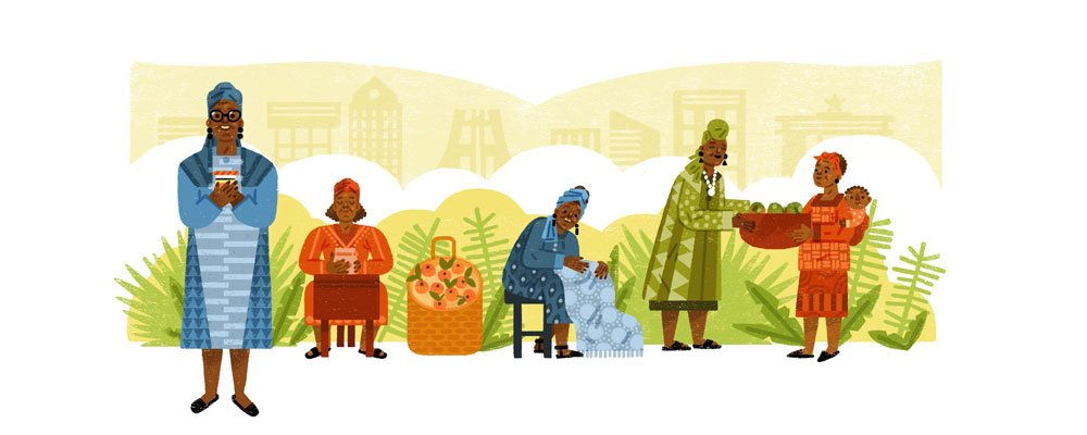 Google Artwork: Esther Afua Ocloo