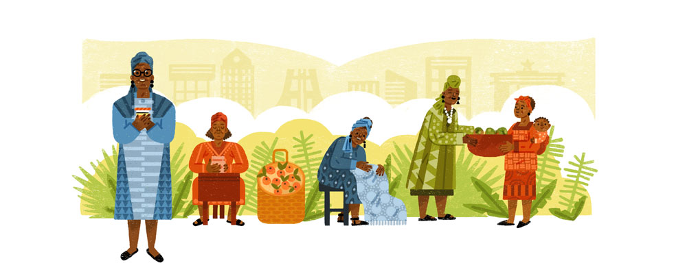 Google Artwork: Esther Afua Ocloo