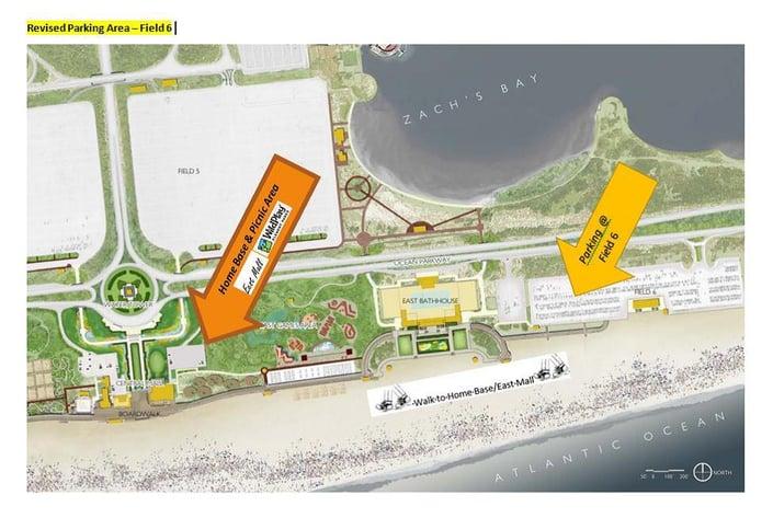 beach cleanup map